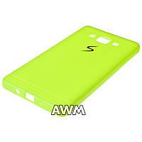Чехол накладка CREATIVE для Samsung Galaxy A5 (A500H) зеленый