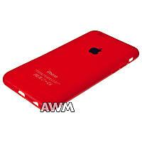 Чехол накладка CREATIVE для Apple iPhone 6 / iPhone 6S красный