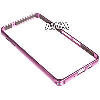 Бампер для Samsung Galaxy A3 (A300H) розовый