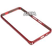 Бампер для Samsung Galaxy A3 (A300H) красный