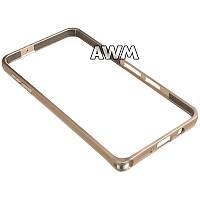 Бампер для Samsung Galaxy A3 (A300H) золотой