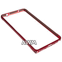 Бампер для Samsung Galaxy Note 4 N910 красный