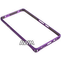 Бампер для Samsung Galaxy A5 (A500H) фиолетовый