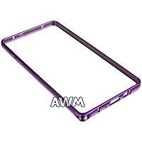 Бампер для Samsung Galaxy A7 (A700H) фиолетовый