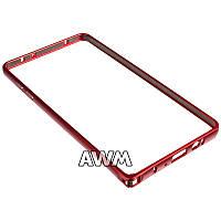Бампер для Samsung Galaxy A7 (A700H) красный