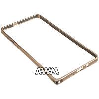 Бампер для Samsung Galaxy A7 (A700H) золотой