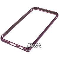 Бампер для iPhone 6/6S фиолетовый