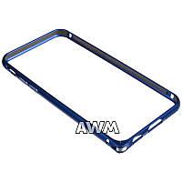 Бампер для iPhone 6/6S синий