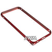 Бампер для iPhone 6/6S красный
