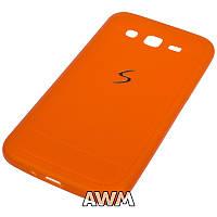Чехол накладка CREATIVE для Samsung Galaxy Grand 2 Duos (G7102) оранжевый