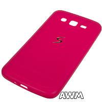 Чехол накладка CREATIVE для Samsung Galaxy Grand 2 Duos (G7102) малинвый