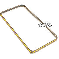 Бампер для IPhone 6 Plus/6S Plus золотой