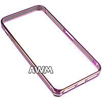 Бампер для IPhone 5/5S фиолетовый