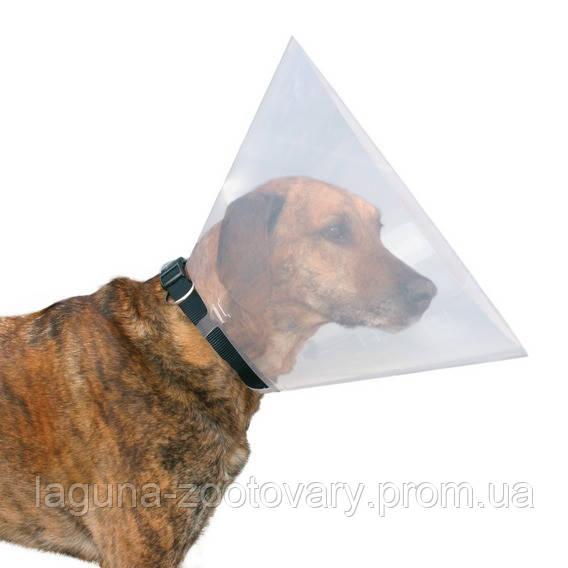 Защитный воротник (ветеринарный конус) для собак и кошек после операции 22-25/7,5см