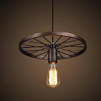 Loft светильник  Колесо, фото 1