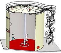 Монтаж резервуаров. Строительство резервуарных парков и нефтебаз   Услуги монтажа резервуаров и строительство