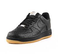 Мужские кроссовки Nike air force 1 Low 07LV8-Black/Gum, фото 1
