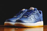 Мужские кроссовки Nike air force 1 Low 07LV8 синие, фото 1