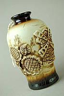 Керамическая ваза Народная маленькая