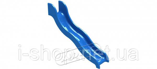 Горка стеклопластиковая KIDIGO™ Волна h-1,5 м SPU0415, фото 2