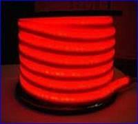 Неон на светодиодах красный,220в