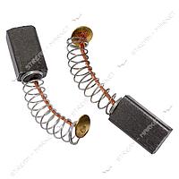 Угольные щетки ЩЭ 5х8х10 пружинные, контакт мал.пятак. (№7)