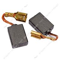 Угольные щетки ЩЭ 6, 5х12, 5х16 без пружины, контакт наконечник-коннектор 'мама'. (№36)