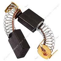 Угольные щетки ЩЭ 6, 5х13, 5х16, 5 пружинные, контакт пятак П-образный (№3)