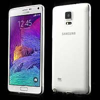 Чехол накладка силиконовый TPU Remax 0.2 мм для Samsung Galaxy Note 4 N910 прозрачный