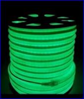 Неон на светодиодах зеленый,220в