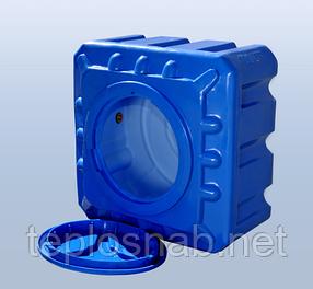 Пластиковый бак (емкость квадратная) RK 100 К/куб двухслойная