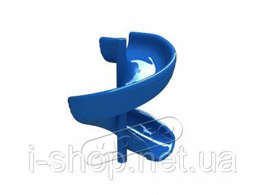 Горка cтеклопластиковая KIDIGO™ Спираль h-1,5 м SPU0315