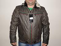 Мужская куртка с меховым воротником Nature