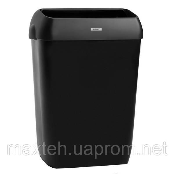 Katrin корзина для использованных полотенец 50 л черная
