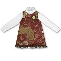 Детское платье для девочки(комплект), на рост- 86, 92, 104-110, 116 см. (арт: 5-10)