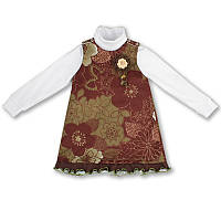 Детское платье для девочки(комплект), на рост- 86, 92 см. (арт: 5-10)