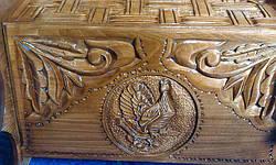 Хлебница из натурального дерева, фото 3