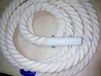 Канат для лазіння х / б з кронштейном (діаметр 45 мм) - 1 мп