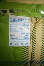 """Одеяло """"Славянский пух"""". Люкс Евро размер. Двойной слой силикона + слой шерсти., фото 3"""