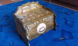 Хлебница подарочная из дерева, фото 2