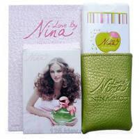 Мини парфюм в кожаном чехле 20мл Nina Ricci Love by Nina