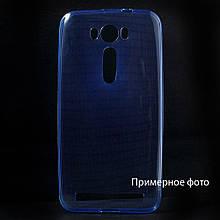 Чехол накладка силиконовый TPU Remax 0.2 мм для Samsung Galaxy J1 J110 Ace синий