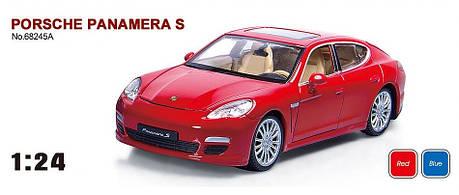 """Машина металева Porsche Panamera S арт.68245A """"АВТОПРОМ"""", масш. 1:24, фото 2"""