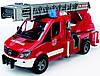 Игрушка Bruder Mercedes Sprinter пожарная машина с лестницей и помпой (свет и звук) 1:16 (02532)