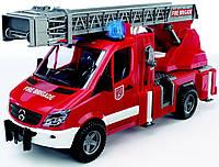 Игрушка Bruder Mercedes Sprinter пожарная машина с лестницей и помпой (свет и звук) 1:16 (02532)  , фото 1