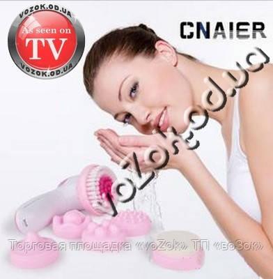 Массажер для лица Multifunction face massager Cnaier AE-8283 6 насадок, фото 1