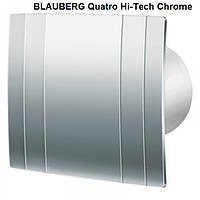 Вентилятор BLAUBERG Quatro Hi-Tech Chrome 125