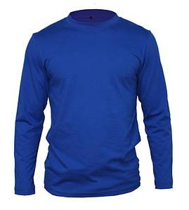Футболка с длинным рукавом синяя