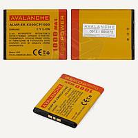 Батарея (аккумулятор) Avalanche BST-33 для Sony Ericsson J100/K790i/K800i (1000 mAh), оригинал