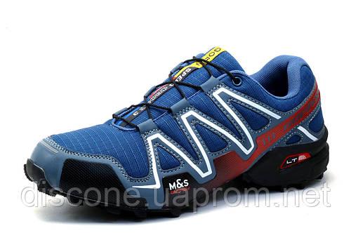 Кроссовки мужские GoFin Speedcross 3, сине-серые